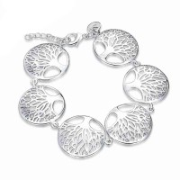 European market and the US market fashion creative fashion bracelet 925 silver jewelry discount low price hot selling jewelry