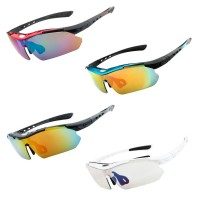 Square Stitching Multi-Color Frame Men's Polarized Sunglasses