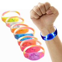 Night Safety Colorful Flash Wrist Band
