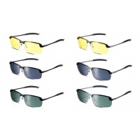Women Men Reflective Sunglasses Colorful Retro Sunglasses