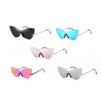 Sunglasses Unisex Classic Vintage Sports Cat-Eye Sunglasses Sports
