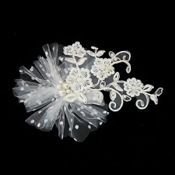 Headpieces With Gorgeous Tulle/ Lace Wedding Fascinator