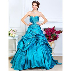 Prom/Formal Evening/Quinceanera/Sweet 16 Dress- Jade Plus Sizes/Petite A-Line/Princess/Ball Gown Strapless/Sweetheart