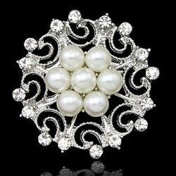 Luxury Flower Brooch(Random Color)