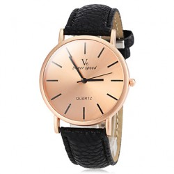Men & #039;S Watch Dress Watch Simple Style Bronze Round Dial