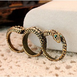 Bbl Women & #039;S Three Finger Circle Fashionable Elegant Ring