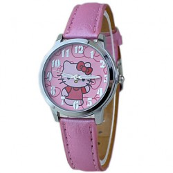 Children & #039;S Hello Kitty Cute Cartoon Wrist Watch