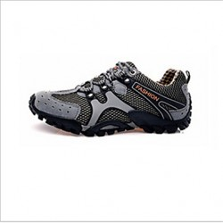 Hiking Men & #039;S Shoes Tulle Brown/Green/Gray