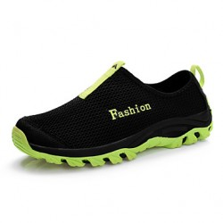 Hiking Men & #039;S Shoes Tulle Black/Blue/Green
