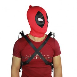 Deadpool Male Red Cosplay Cosplay Costumes Headgear