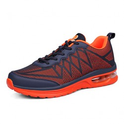 Men & #039;S Running Shoes Synthetic Blue/Green/Orange