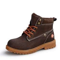 Boys & #039; Shoes Outdoor/Athletic/Casual Synthetic/Fashion Sneakers Black/Brown