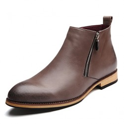Men & #039;S Shoes Casual Boots Black/Brown/Gray