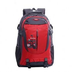Unisex Canvas/Nylon Sports/Outdoor Backpack/Sports & Leisure Bag/Travel Bag-Blue/Green/Red/Black