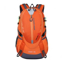 Unisex Nylon Sports/Casual/Outdoor Backpack/Sports & Leisure Bag/Travel Bag-Blue/Green/Orange/Black