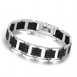 Fashion Men Jewelry Stainless Steel Bracelet And Bangle