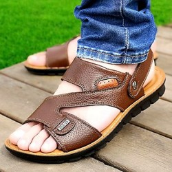 Men & #039;S Shoes Amir 2017 New Style Popular Sale Outdoor/Casual Comfort Beach Sandals Brown/Black/Orange