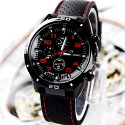 Men's Fashion Silicone Band Sport Watches