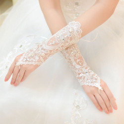 Wedding Short Gloves Fingerless Gloves