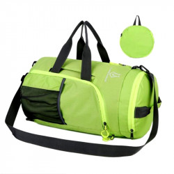 Foldable dual-use ladies men's casual travel bag