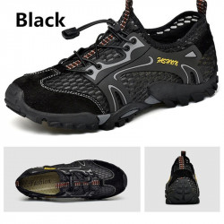 Men Water Shoes Outdoor Hiking Casual Breathable Shoes Mesh Shoes