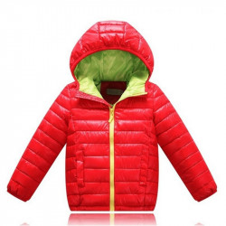 Boys Winter Coat Long Sleeve Jacket