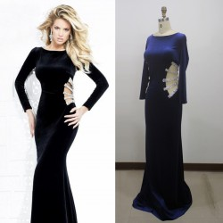 2015 New hand-tailored suits toast upscale sexy fishtail dress evening dress bridesmaid dress chaired