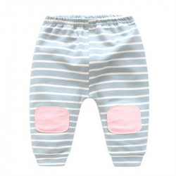 Baby Pure cotton loose PP striped pants