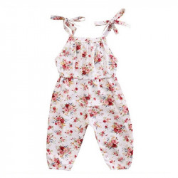 Babys Sleevess Cotton Romper