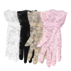 Sun Protection Hollow-Out Gloves