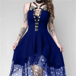 Women's Length Medieval Cosplay Lolita Dress