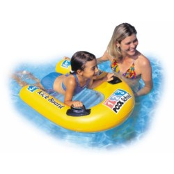 Inflatable Surfboard Surfing Bodyboards Floating Plate Swimming Kick Board Beach Toys For Water Sports Free Shipping
