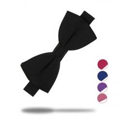 1 Piece Fashion Bow Ties For Men Tuxedo Classic Solid Color Wedding Party Bowtie Red Black White Green Butterfly Cravat Brand