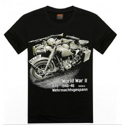 2017 New Fashion Motorcycle T-Shirt Men 3D T Shirt Summer Fighting Plane Printing Summer 3D T-Shirts O-Neck Short-Sleeve A15