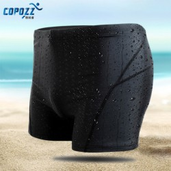 Copozz Men Swimwear Swimsuits Board Shorts Trunks Swim Briefs Surf Beach Wear Swimming Pool Brand Boxers Hombre Waterproof