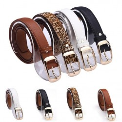 New 2017 Fashion Women Belt Brand Fashionable Designer Popular Ladies Faux Leather Metal Buckle Straps Girls Fashion Accessories