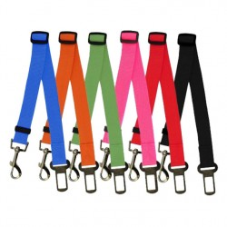 Adjustable Pet Cat Dog Car Safety Seat Belt Harness Vehicle Seatbelt Lead Leash For Dogs 6 Colours Drop Shipping