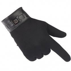 1 Pair Fashion Winter Gloves Men Warm Mittens Ipad/Iphone Touch Screen Gloves Driving Cashmere Gloves