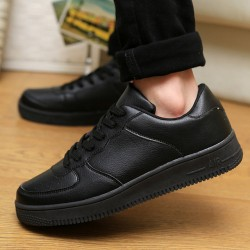 High Quality New Products Listed High Quality Men Shoes Casual Shoes Leather Black Fashion Couples Skate Shoes Size 36-44