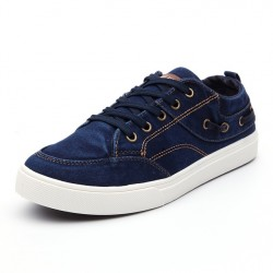 2017 New Arrive Men Casual Canvas Shoes Washed Denim Classic Skate Shoes Comfortable Wear-Resisting