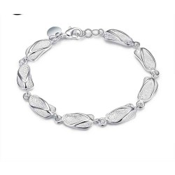 Creative fashion slippers bracelet 925 silver jewelry rapid sales discounts discount all matching H155
