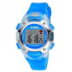 Popular multi-colored electronic watches student for 5-10-year-old girl to wear men's rapid sales discount