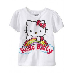 Discount Kids T-shirt girls summer hot models at a discount