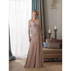 European market and the US market long style banquet dinner the young mother dress costume dress elegant chiffon evening dress with diamond embellished shawl