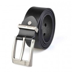 2016 new style leather belt belt leather belt men's belts sided discount men's leather belt