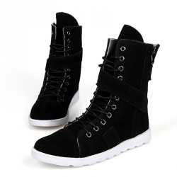 Fast shipping winter high shoes men's shoes Martin boots casual men's high-top boots