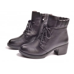 Autumn and winter new style low price brand fashion leather ladies boots ladies boots Miss Ma Dingxue fast delivery