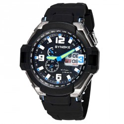 Popular promotional outdoor swimming multifunction watches luxury watches 3 degrees waterproof sports watch