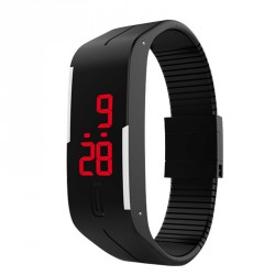 Rapid sales of intelligent LED bracelet watch sports personality waterproof watch student couples touch hot sales