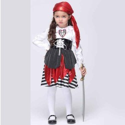 The European and US markets Kids Pirate Costume cosplay costumes, childrens costumes Children Set